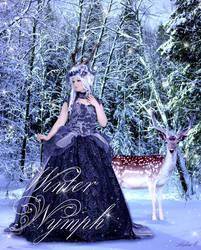 Winter Nymph by Mylene-C