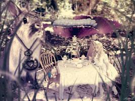 Mini World - Tea Time for Alice by Mylene-C