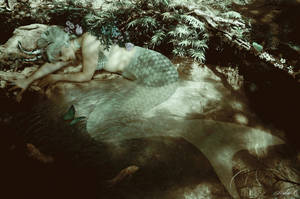 Forest Mermaid by Mylene-C