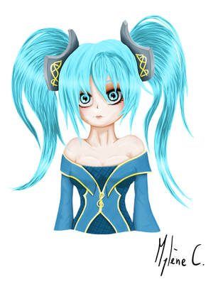 Sona Digital Painting + Video by Mylene-C