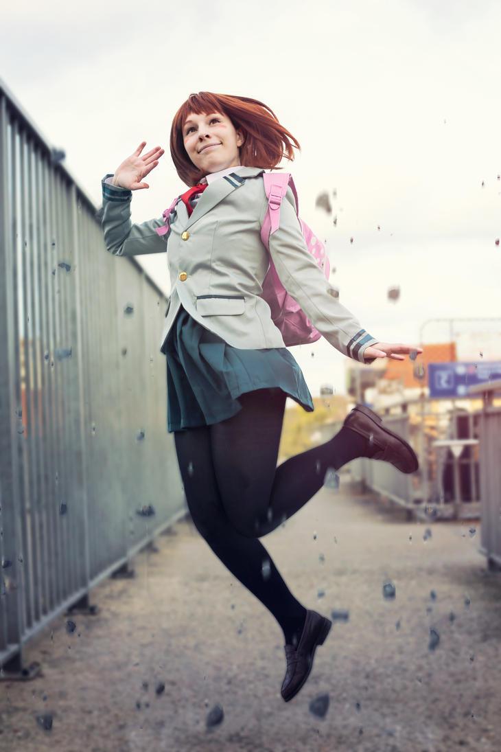 Ochako Uraraka - My Hero Academia by Mylene-C