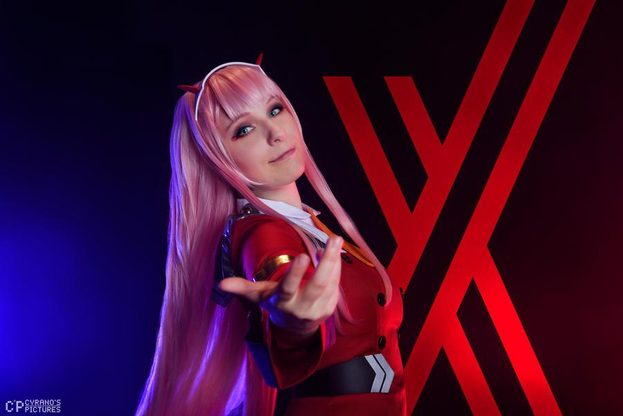 Zero Two - Darling in the Franxx by Mylene-C