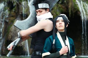 Haku / Zabuza - Naruto (Photo Retouch)