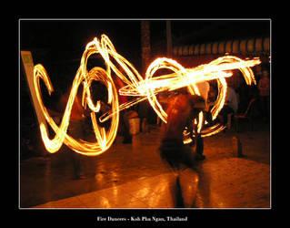 Fire Dancers by kieranishere