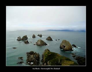 Sea Rocks by kieranishere