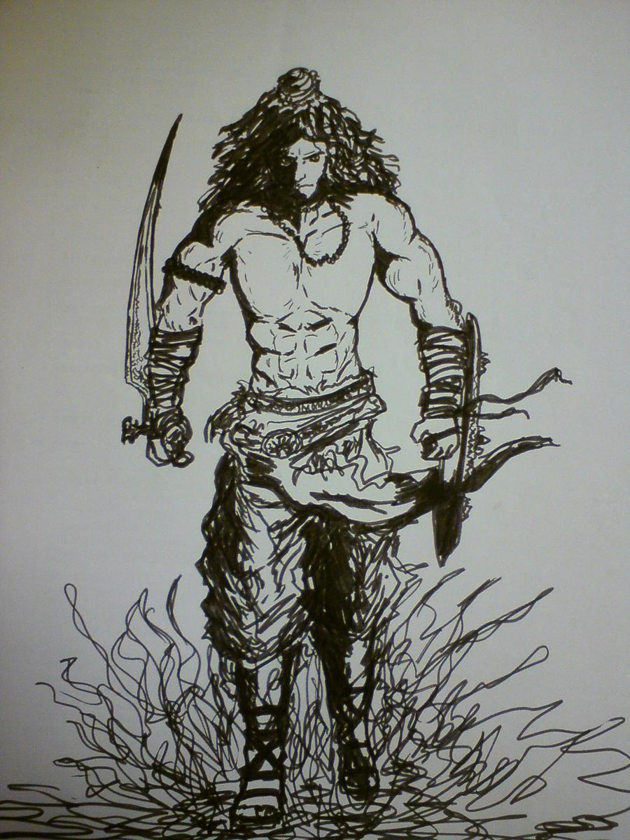 Shiva Pencil Sketch By Dibbu On Deviantart