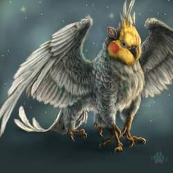 Cockatiel - Gryphon