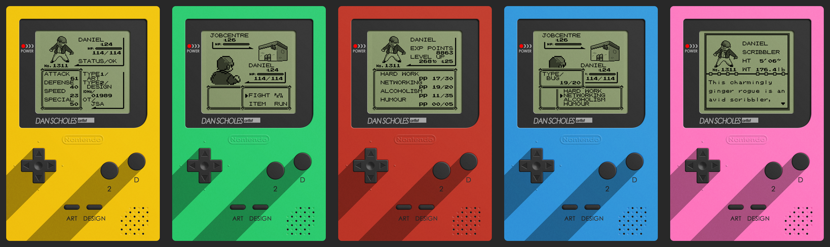 Game boy business card set by pencil x paper on deviantart game boy business card set by pencil x paper reheart Image collections