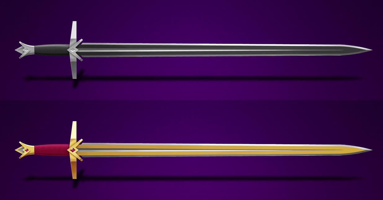 2014-11-19 - Practical Sword WiP by Pencil-X-Paper