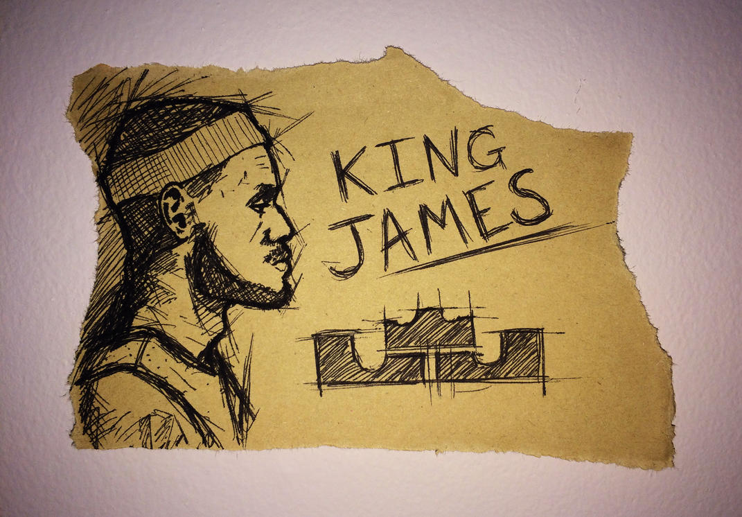 2015-03-10 - LBJ, The King by Pencil-X-Paper
