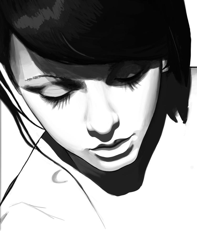 2015-03-24 - PortraitWiP by Pencil-X-Paper