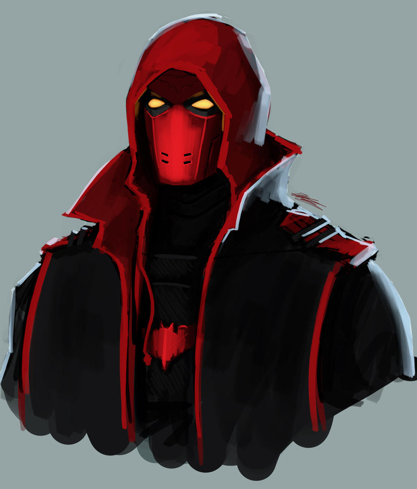 2015-05-11 - Red Hood by Pencil-X-Paper
