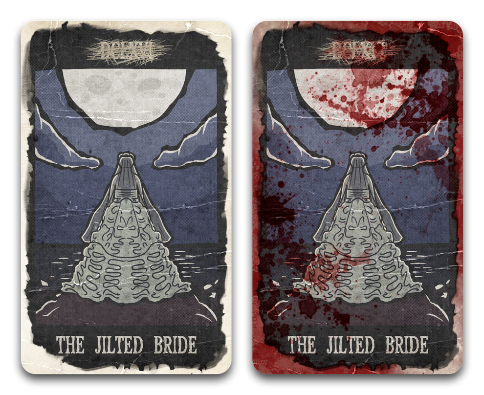 Tarot Card - The Jilted Bride by Pencil-X-Paper