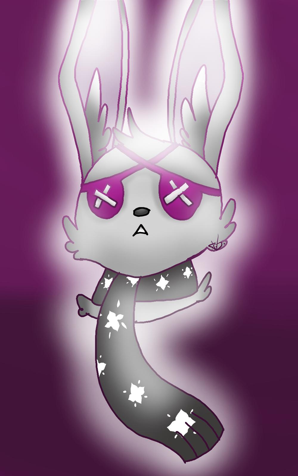Animal Jam bunny by KkandyKrystals