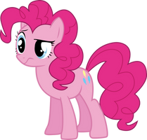 Pinkie Pie Unsure Vector by P0nies