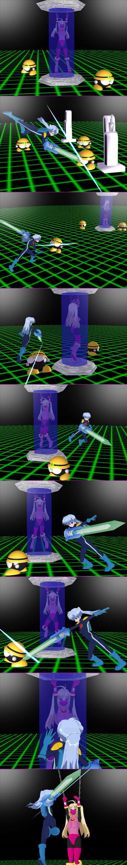 02 Cosplay Adventures RockGirl EXE Part02 by Shadownightjpn