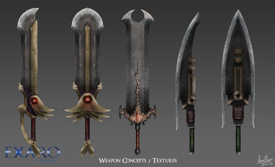 Sword Concepts Textures By Aaronquinn On Deviantart
