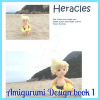 Amigurumi Design Book 1 by Sculpturingface, paperback book - 12 ... | 200x200