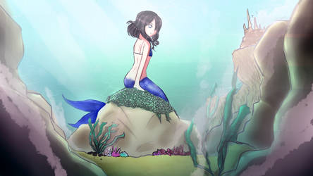 Mermaid by HaiperKun