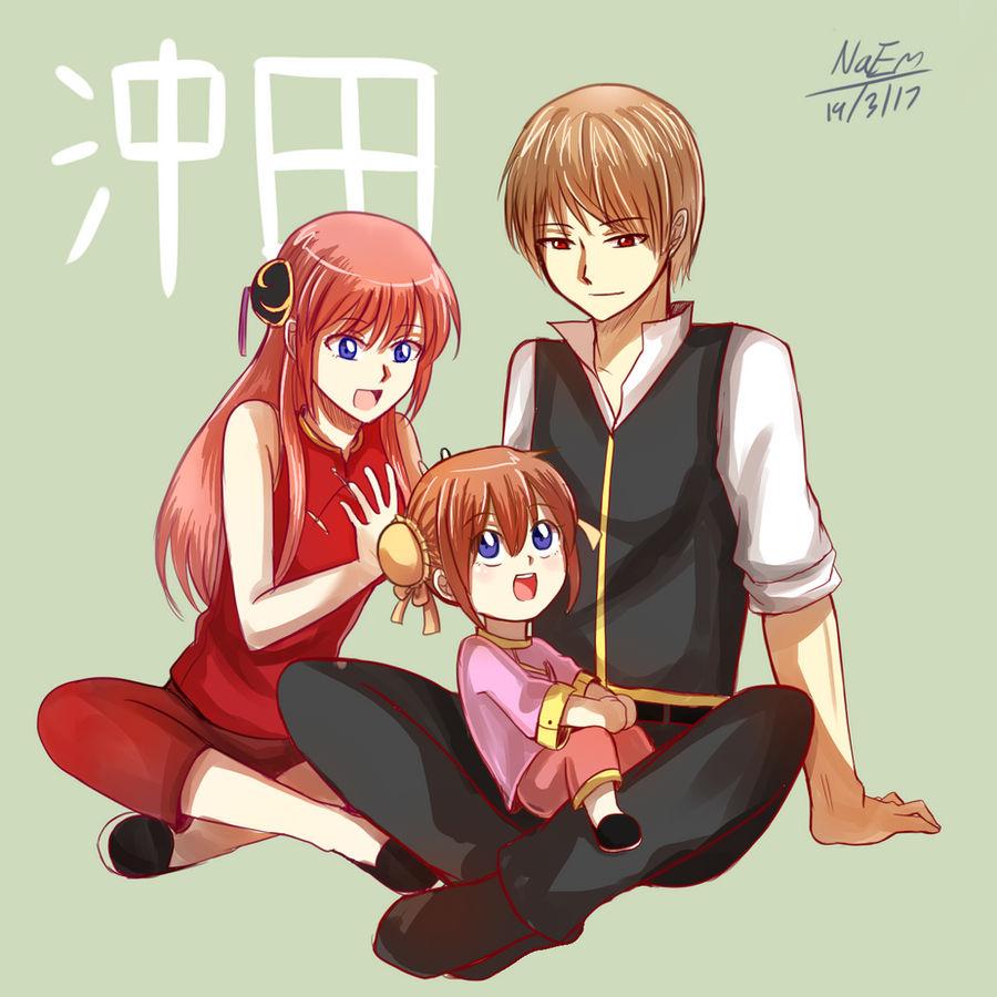 Gintama : Okita Family by HaiperKun