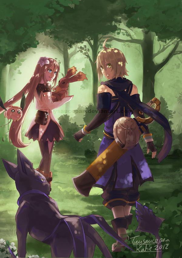 Tales of Symphonia Knights of Ratatosk by tinysaucepan