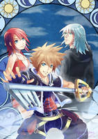 Kingdom Hearts by tinysaucepan