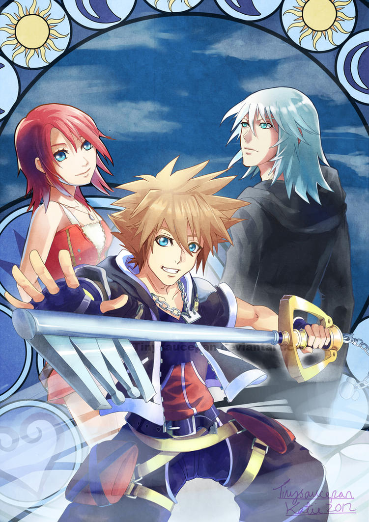 Kingdom Hearts By Tinysaucepan On Deviantart