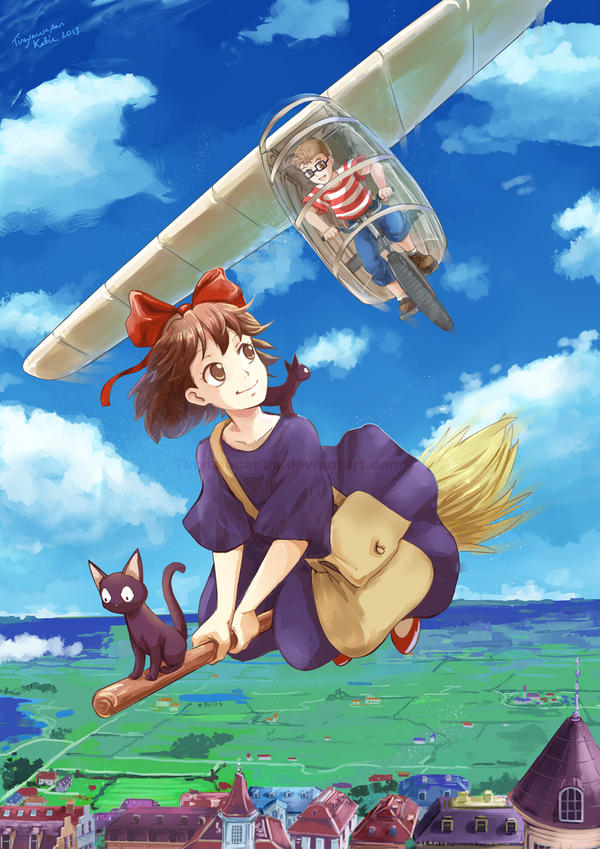 Kikis Delivery Service Iphone Wallpaper Kiki 39 s Delivery Service by