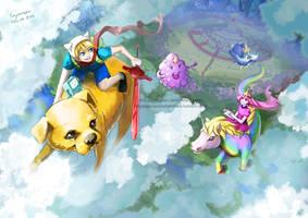 Adventure Time by tinysaucepan