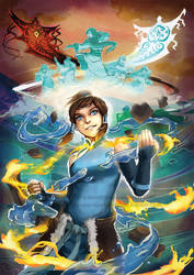 The Legend of Korra by tinysaucepan