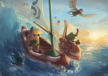 Wind Waker by tinysaucepan
