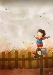 Wind is Warm in Smallville by rizaturker