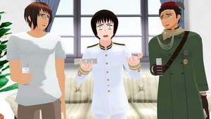 MMD Hetalia - Look who's angry by PikaBlaze