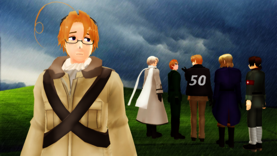 MMD Hetalia - I just want to be noticed... by PikaBlaze