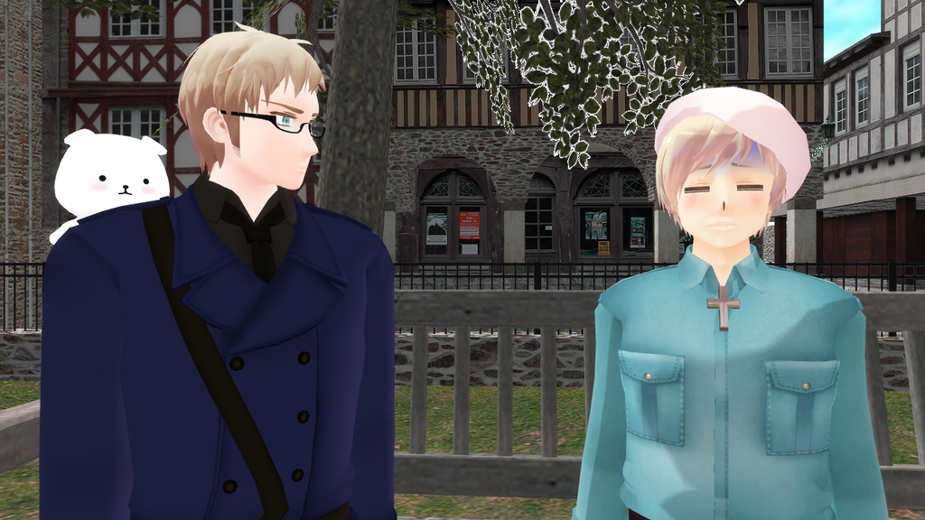 [MMD] Together with Mr. Sweden [Video] by PikaBlaze