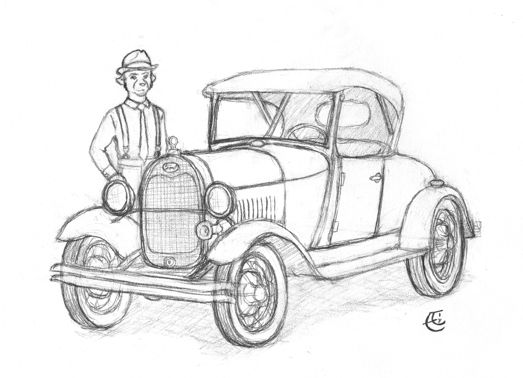 1928 ford model a roadster by stormpaw on deviantart