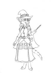 Haley the Meerkat Witch by Stormpaw
