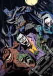 Batman and Villains by John McCrea
