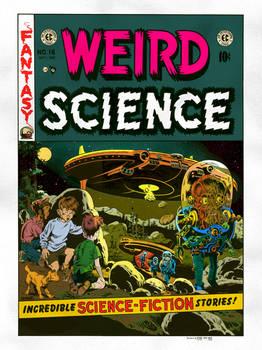 Weird Science #16 Recreation by Delgoda7