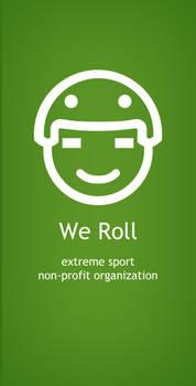 We Roll Logo