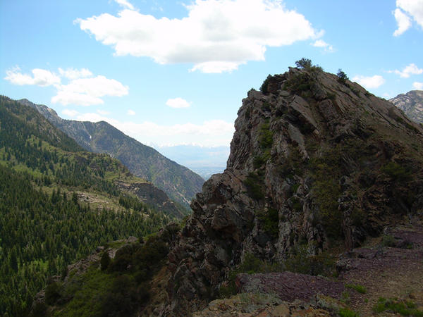 Mountain Rock by abuseofstock