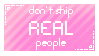 don't ship real people please by stampswhore
