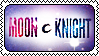 Moon Knight Stamp (2) by stampswhore