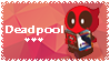 I heart Deadpool stamp by stampswhore