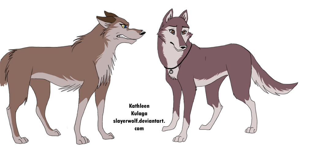 Aleu vs.Dusty by SlayerWolf