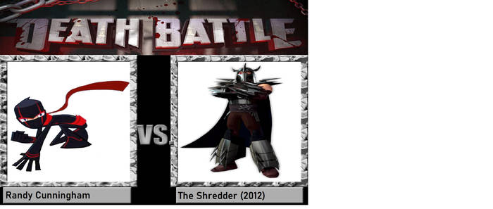The Ninja vs The Shredder
