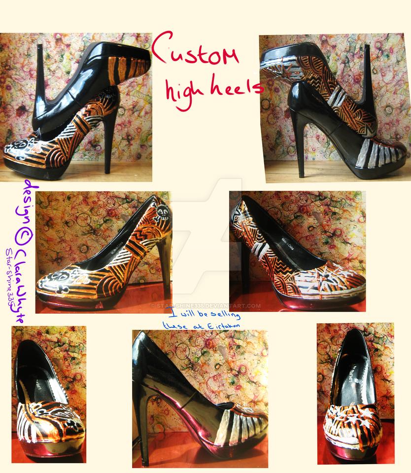 custom heels by star-shine335
