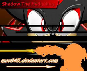 Shadow the hedgehog by Maverick-RF