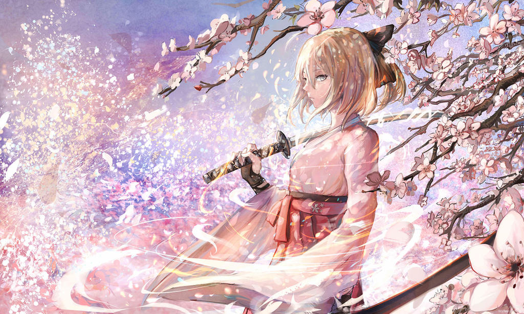 sakura saber by sishenfan