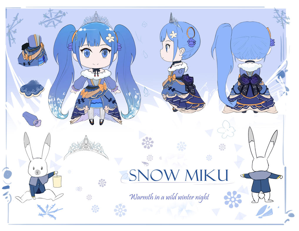 SNOW MIKU 2019 SUBMISSION by sishenfan